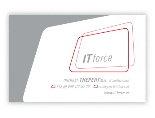 Logodesign IT force